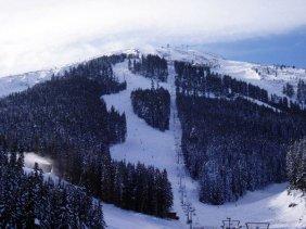 Сейчас горные лыжи в Болгарии